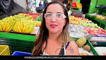 CARNE DEL MERCADO - Fat ass Latina drilled hard then gets cum on ass