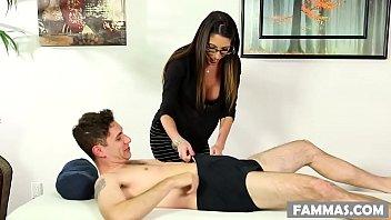 Busty Mom Dava Foxx fucks her daughter's husband!