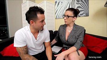 The Tax Man Cums In Sara Jay
