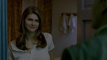 Alexandra Daddario and  Woody Harrelson sex scene in True Detective S01E02