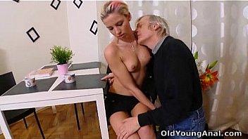 Speaking, old man sucking boobs of girls