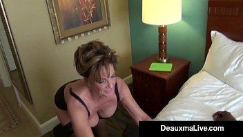 Milf Secretary Deauxma Gets Banged By Boss's Big Black Cock!