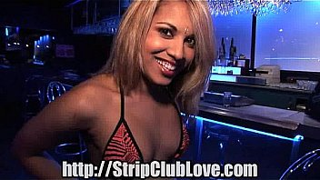 Stripper sucks dick for a job