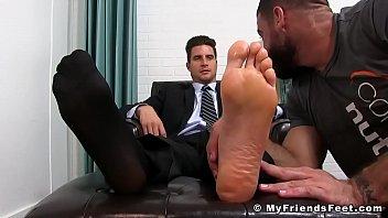 Lick my friends feet
