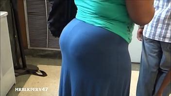 Big Ebony BBW Candid Booty - XNXX.COM