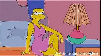 Cartoon porn Simpsons strapon