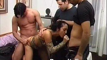 Gangbang con natasha kiss godimento anale estremo - italian pornostar scene anal