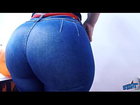 Big ass jeans porn pics