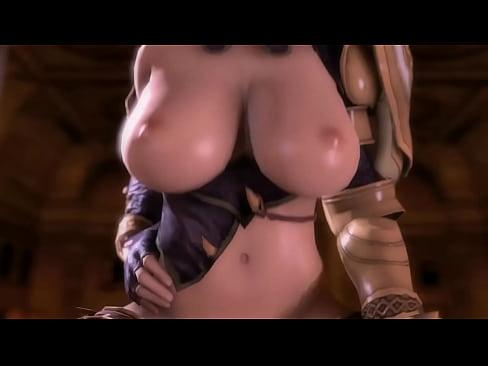 Soul Calibur Isabella Valentine fight on bed - XNXX.COM