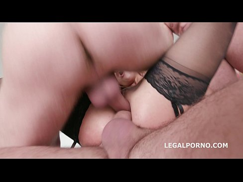 Allen Benz first time in Porn. Intense DP, DAP 4 swallows. Pussy only for DP GIO196