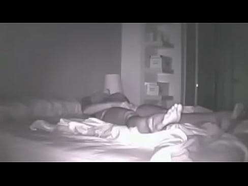My wife in bed masturbates