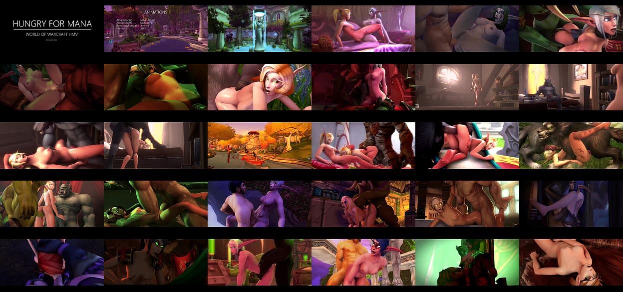 Warcraft porn 3d of world