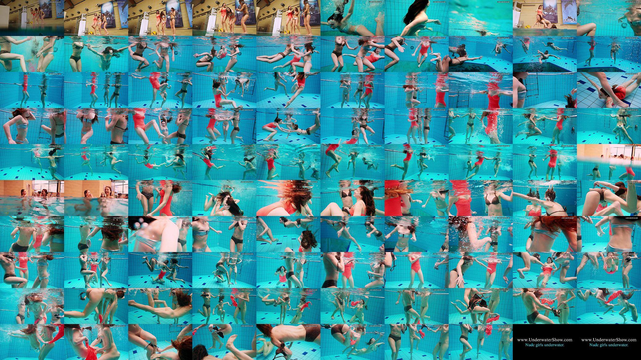 Underwater lesbian naked girls