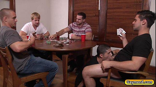 men.com poker orgy gay porn