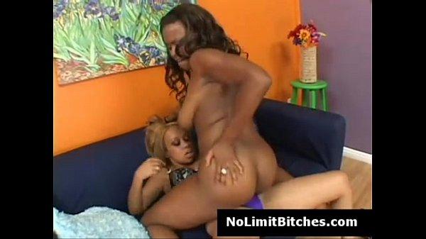 Strapon black lesbian sistas