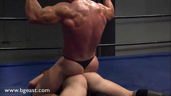 Wrestling buck match naked