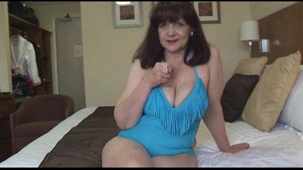 granny solo Big tits mature