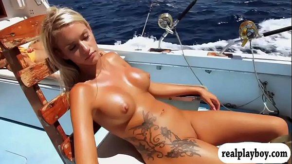 Hot Babes Fishing Naked Photos