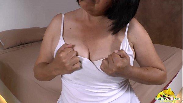 LatinChili Mature Latina Andrea Masturbation