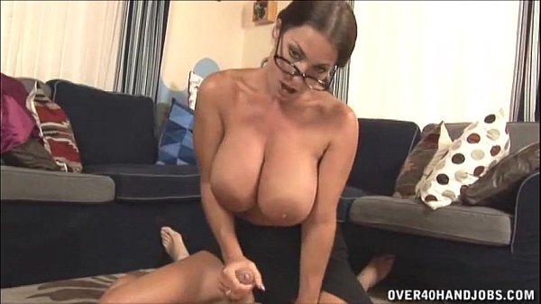handjob breasts sex -