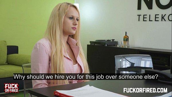 Fuck girl for jop