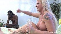 Watch Leya Falcon Interracial_BTS preview