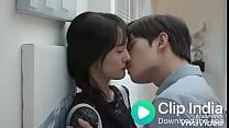 Young couple kissing Thumbnail