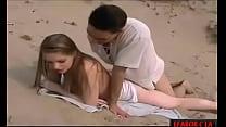 Gettin Pussy on the Beach hard porn صورة