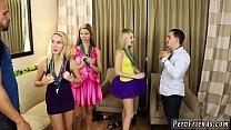 Real amateur sex at party_ hot blonde black gangbang Thumbnail