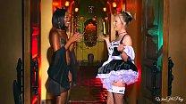 Twistys.com - Naughty halloween games xxx scene with Chanell Heart, Karla Kush 1 Thumbnail
