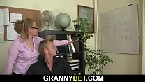 Watch He fucks sexy office boss preview
