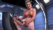 fucking machine Porn video ◦ Busty blonde milf masturbates with vibrator Thumbnail