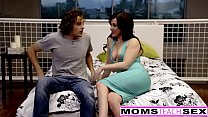 This Mothers Day She Wants Step-Son and Creampie's Thumb