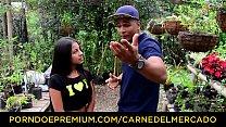 Watch CARNE DEL MERCADO – Tiny chick fucks thick knob preview