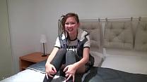 Cute Asian teen masturbates Thumbnail