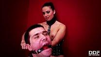 Fetish taboo threesome shows Mira Cuckold humiliate husband by banging stranger's Thumb
