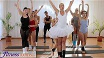 Fitness Rooms Petite ballet teachers secret threesome Thumbnail