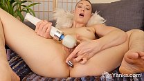 piercing - Amateur babe with pierced nipples from yanks iris ives masturbating her ass and slit Thumbnail