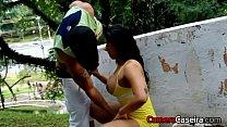 Anita Ferrari fazendo sexo na Rua صورة