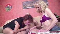 Watch Nachbar mit dem grossen Schwanz fickt die MILF Nachbarin und ihre beste Freundin preview