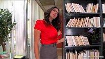 Sexy big-tit Latina Librarian Missy Martinez fucked hard at work's Thumb