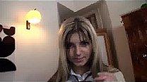 Amateur Schoolgirl Gina Gets Filled's Thumb