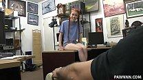 Nerdy redhead teen fucking in pawnshop ภาพขนาดย่อ