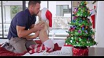 Piper Perri unwraps her gift - Visit SideSkeet.com for more Piper Perri videos's Thumb