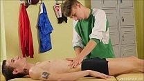 Ariel Black and Vitali Kutcher getting hot body massage