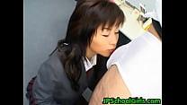 Watch Akane Hotaru gives a hot blowjob 2 preview