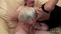 Watch Mamy libertine veut du sperme chaud de jeunot pour son casting porno preview