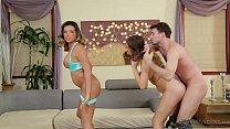 Danica Dillon Rough Threesome Play's Thumb
