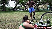 Abella Danger Takes a Huge Black Dick's Thumb