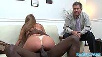 Busty milf cuckolds her husband with bbc صورة